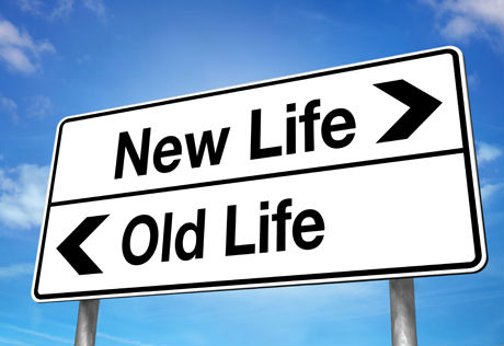 New life, old life
