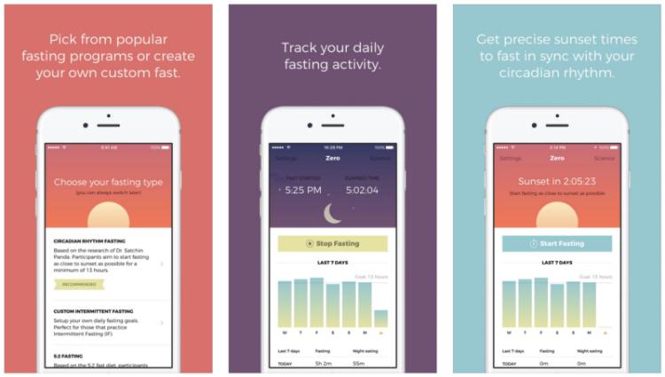 Fasting en mode geek : Zero, l'appli qui vous aide à gérer votre jeûne intermittent